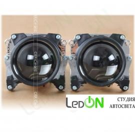 """Комплект би-линз Bosch 2.5"""" реплика быстрой установки в гнездо H4 под лампу D2S/D2H"""