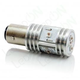 Светодиодная лампа P21/5W-D15s56R-Стоп