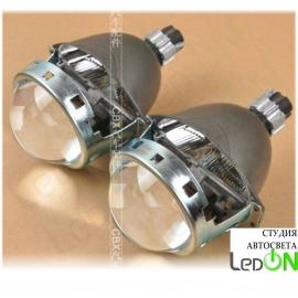 """Комплект би-линз Koito Q5 3.0"""" быстрой установки в гнездо H4/H7 в комплекте с ксеноновой лампой 4300К"""