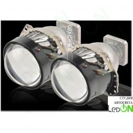 """Комплект би-линз Hella G1 3.0"""" реплика штатной установки под лампу D2S/D2H"""