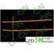 LED гибкий ДХО с функцией поворотника для установки в фару 60 см.