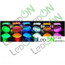 Светодиодная подсветка линзы
