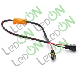 Автомобильный резистор обманка светодиодных ламп с цоколем HB4