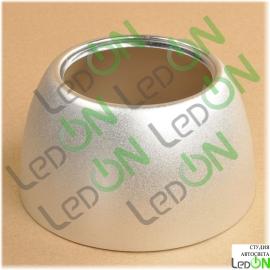 """Комплект алюминиевых масок для линз 3,0"""" тип С серебристый матовый"""