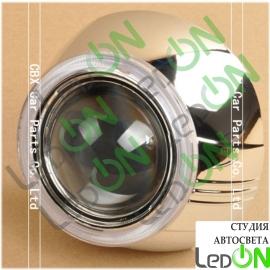 "Комплект масок для линз 3,0"" MAX тип B-L серебристый глянец"