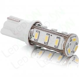 Светодиодная лампа W5W-15s35 (10 мм)