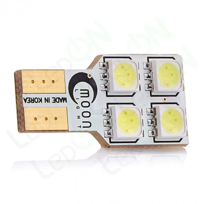 Светодиодная лампа MoonLight W5W-4s54s