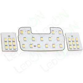 Набор светодиодных ламп Sunico для подсветки салона Hyundai Solaris / KIA Rio III без очечника