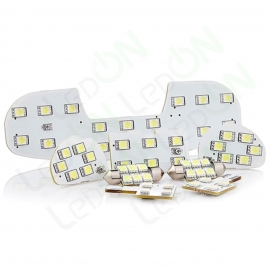Набор светодиодных ламп Sunico для подсветки салона и заднего номера Ford Focus 2