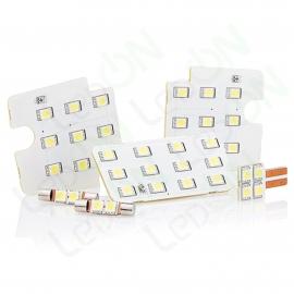Набор ламп Sunico для подсветки салона и багажника Mitsubishi ASX / Citroen C4 Aircross / Peugeot 4008