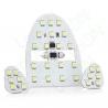 Набор светодиодных ламп Sunico для подсветки салона Chevrolet Lacetti