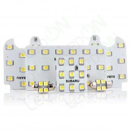 Набор светодиодных ламп для подсветки салона и багажника Subaru Forester (07-12) с люком в крыше