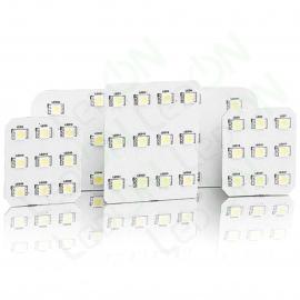 Набор светодиодных ламп для подсветки салона и багажника KIA Sorento (09-12) без панорамной крыши