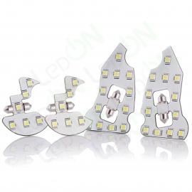 Набор светодиодных ламп для подсветки салона SsangYong Kyron