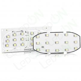 Набор светодиодных ламп для подсветки салона Hyundai Tucson (08-10) / KIA Sportage (08-10)