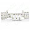 Набор светодиодных ламп для подсветки салона и багажника KIA Sorento (09-12) c панорамной крышей