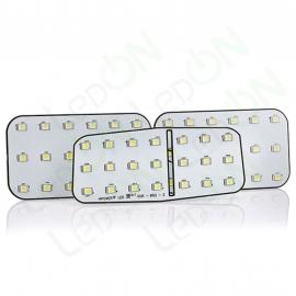 Набор светодиодных ламп для подсветки салона и багажника Hyundai H-1 (Starex) без очечника