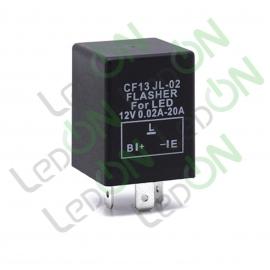 Реле (прерыватель) указателей поворота для светодиодных ламп FLL002 (CF13 JL-02)