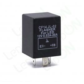 Реле (прерыватель) указателей поворота для светодиодных ламп FLL001 (CF14 JL-02)
