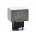 Реле (прерыватель) поворотников для светодиодных ламп FLL009 (81980-50030, 066500-4650)