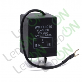 Реле (прерыватель) поворотников для светодиодных ламп FLL010 WM