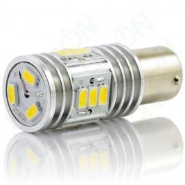 Светодиодная лампа P21W-D15s56-ДХО