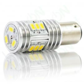 Светодиодная лампа P21/5W-D15s56-ДХО