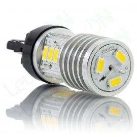 Светодиодная автомобильная лампа W21/5W-D15s56-ДХО-CK