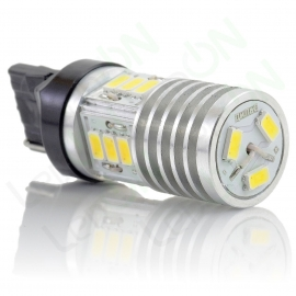 Светодиодная лампа W21W-D15s56-ДХО