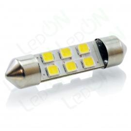Светодиодная лампа C5W-D6s35f36