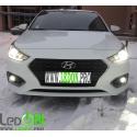 Просветление нового Hyundai Solaris