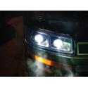 Установка светодиодных линз на Chevrolet Express